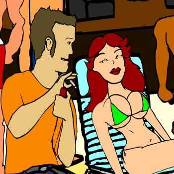 Сексуальные флэш игра раздень девушку и доведи до